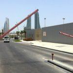 barrera control de trafico