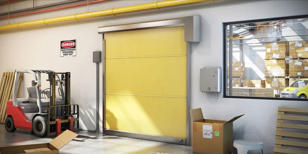 puerta rapida de lona